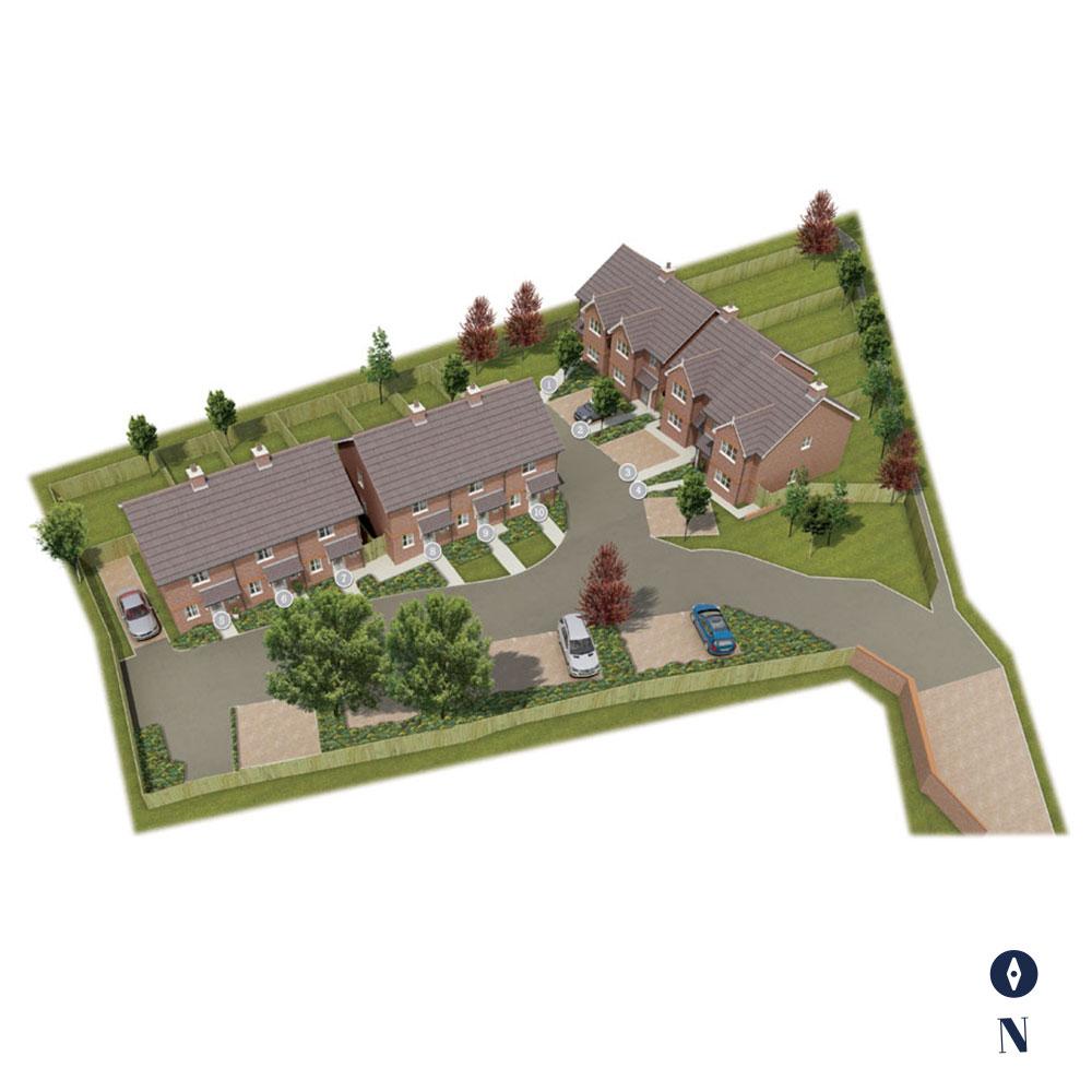 Barlow Grove Siteplan
