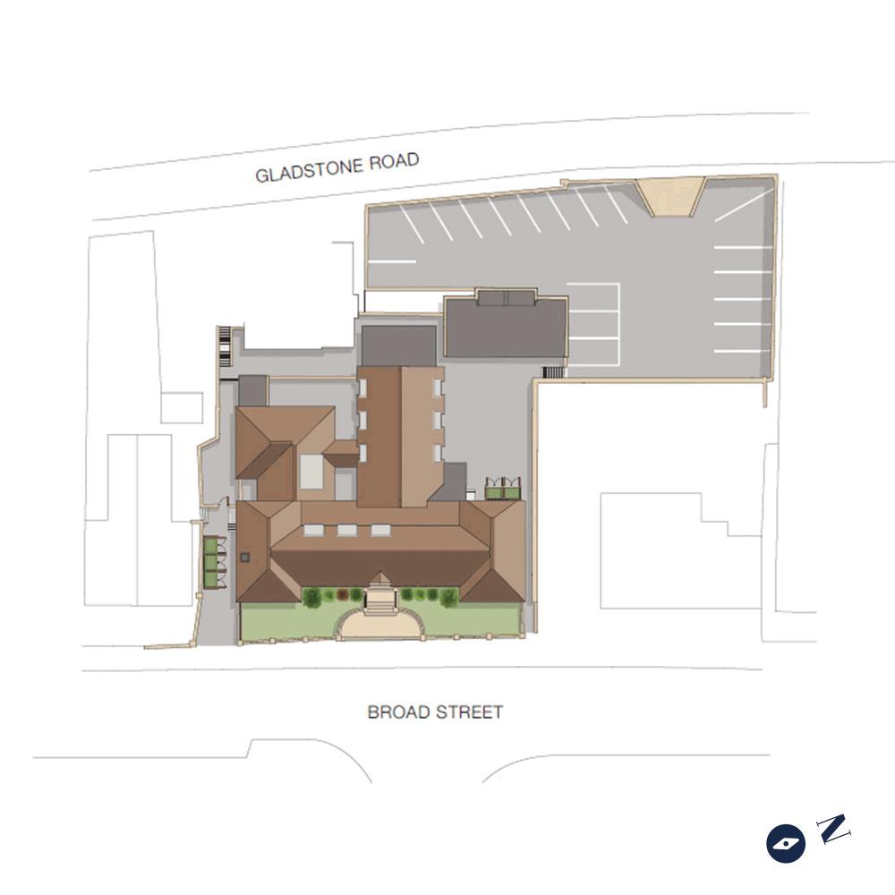 Copsham House Siteplan