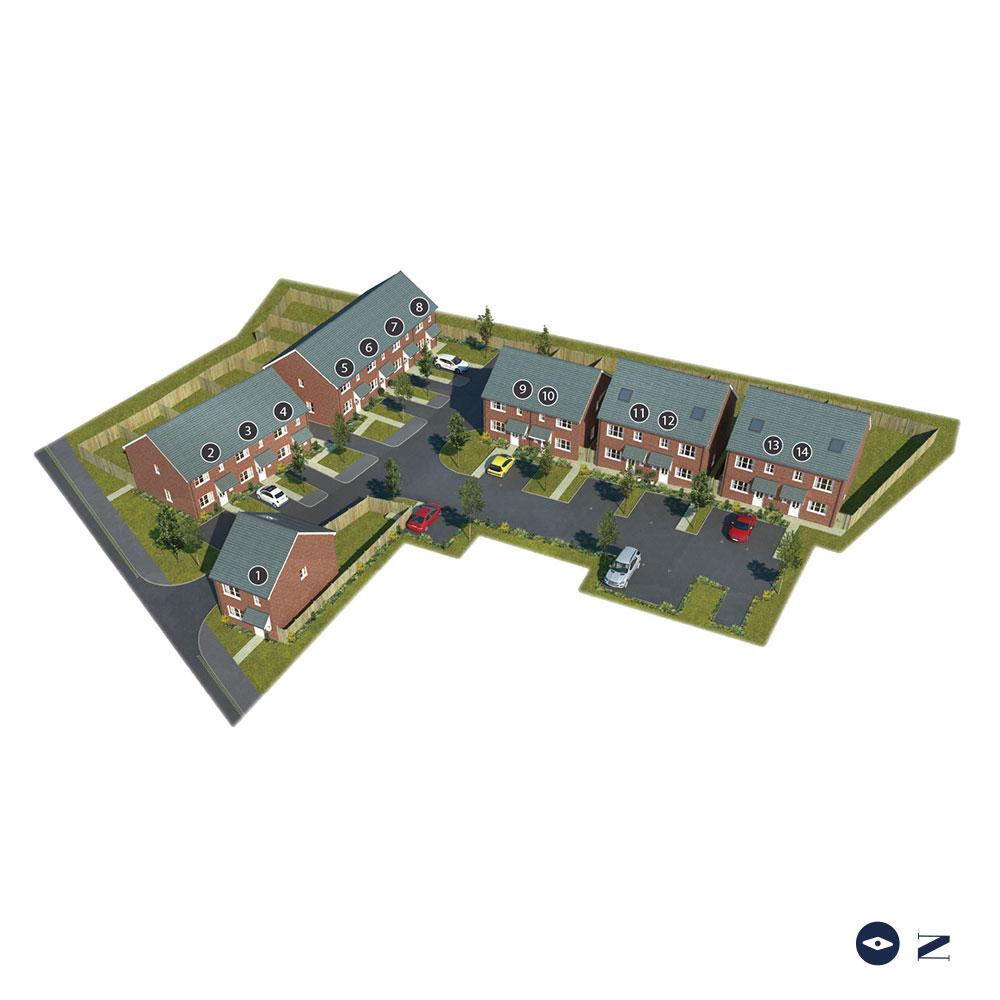 Farley Mews Siteplan