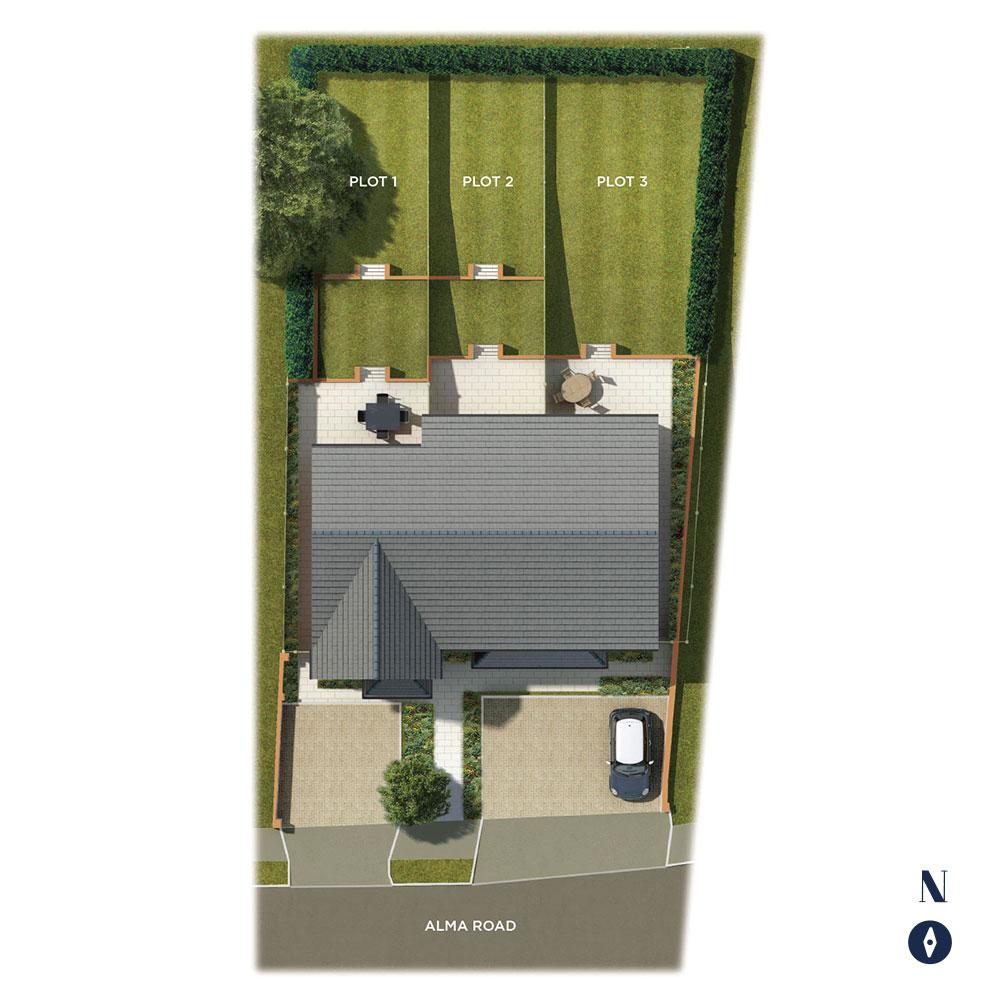 Lowndes Terrace Siteplan
