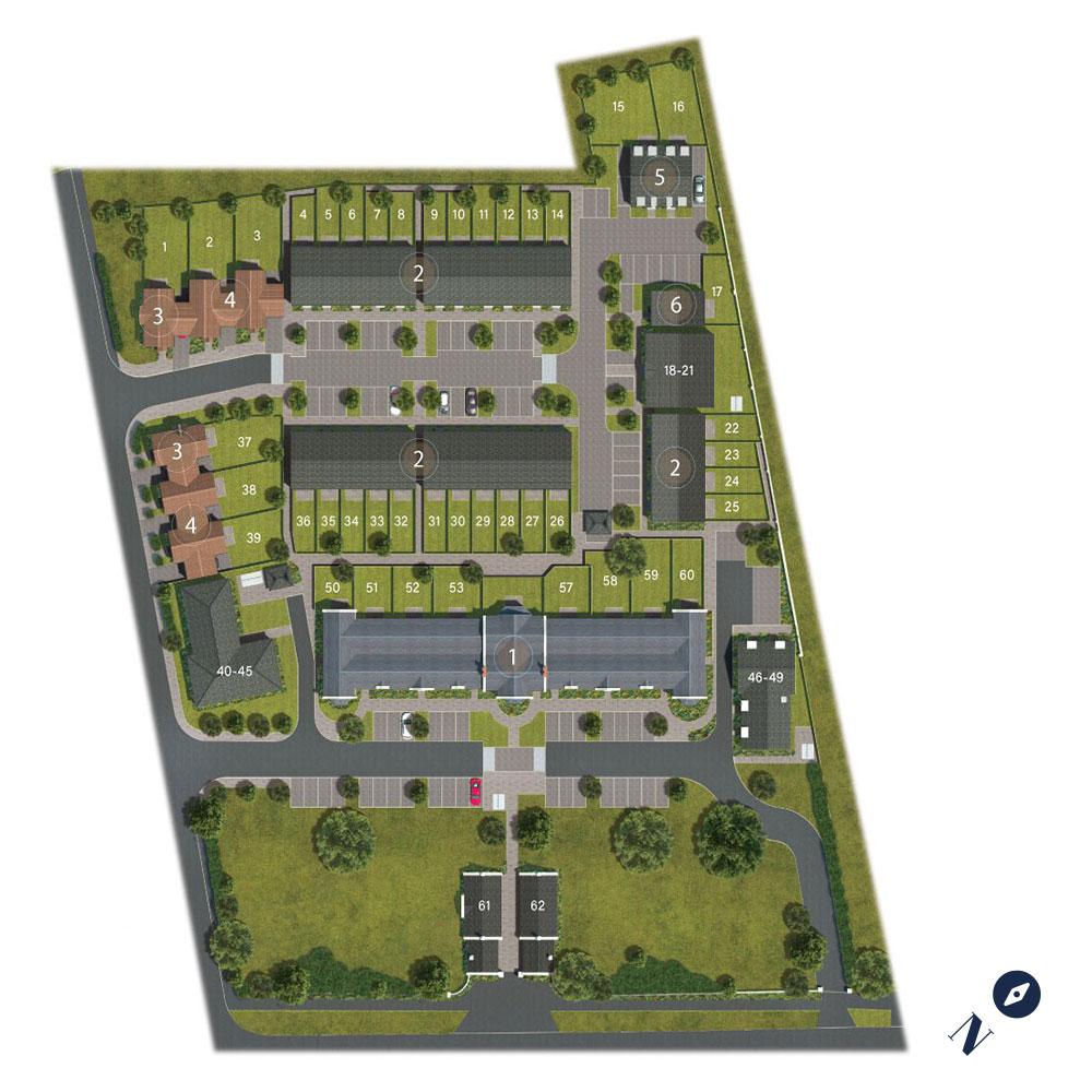 Cavendish Grove Siteplan