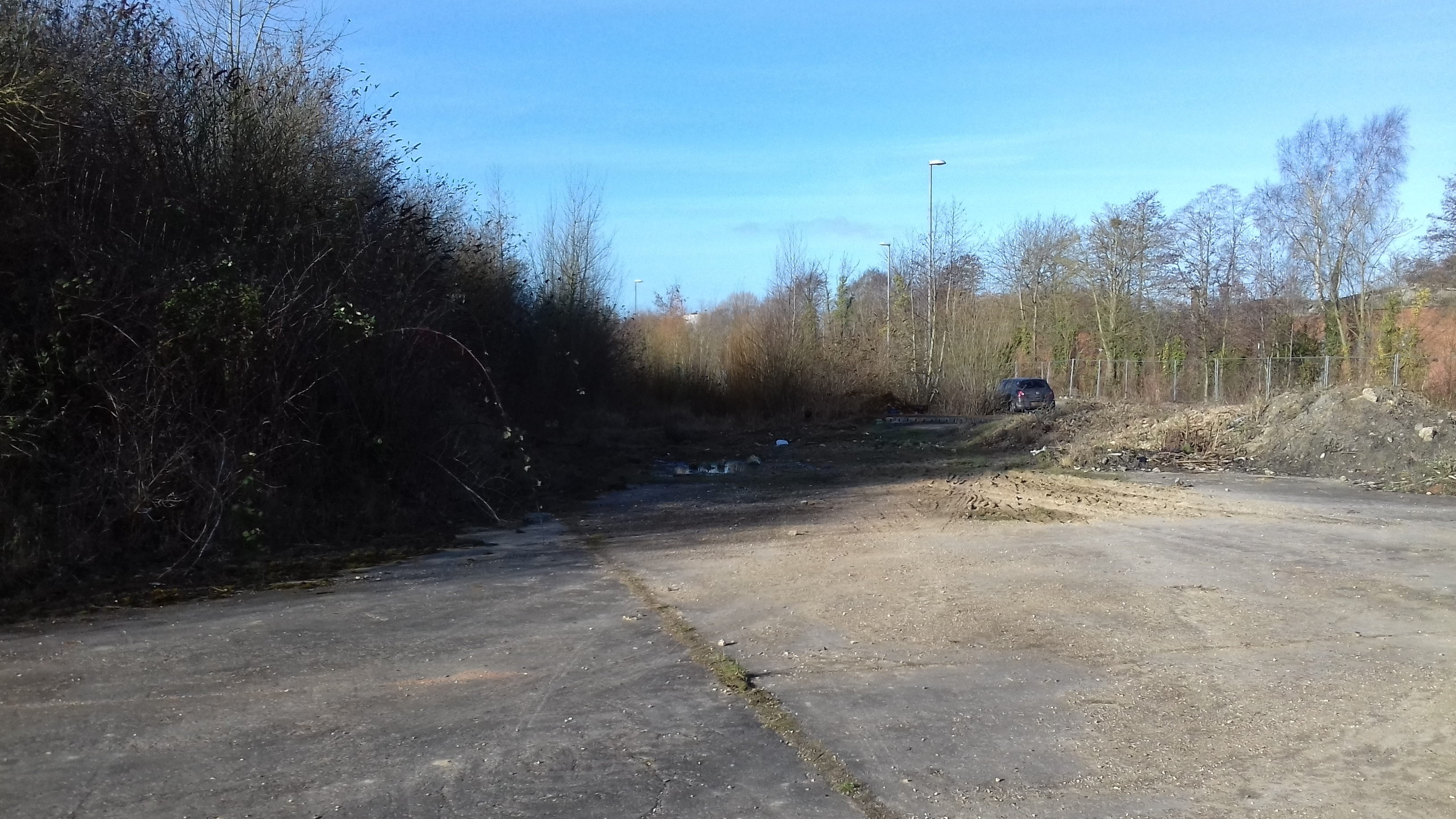 Tring Road Before